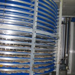 180 deg. spiral conveyor